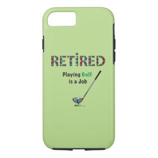 Coque iPhone 8/7 GOLF - retiré, jouer au golf est un iPhone 6 du