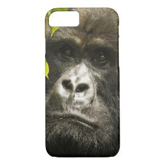 Coque iPhone 8/7 Gorille de montagne, beringei de beringei de