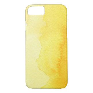 Coque iPhone 8/7 grand arrière - plan d'aquarelle - peintures 2