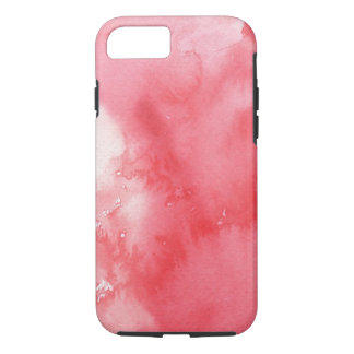 Coque iPhone 8/7 grand arrière - plan d'aquarelle - peintures 3