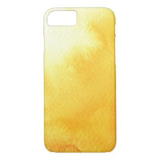 Coque iPhone 8/7 grand arrière - plan d'aquarelle - peintures 4
