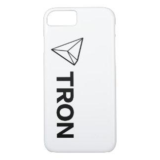 Coque iPhone 8/7 Grand blanc de cas de téléphone de TRON TRX