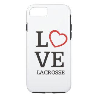 Coque iPhone 8/7 Grande lacrosse d'AMOUR