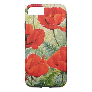 Coque iPhone 8/7 Grands pavots rouges