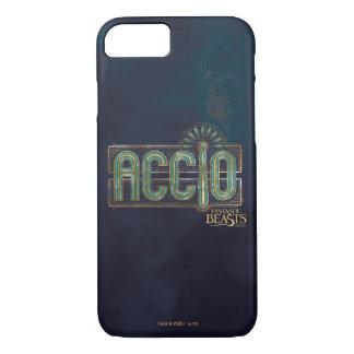 Coque iPhone 8/7 Graphique de charme d'Accio d'art déco de jade