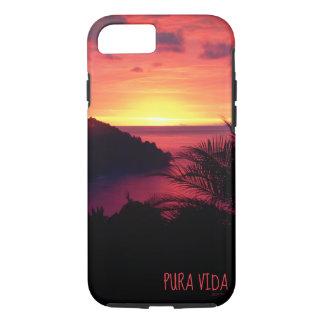 Coque iPhone 8/7 Grésillement de coucher du soleil de Pura Vida
