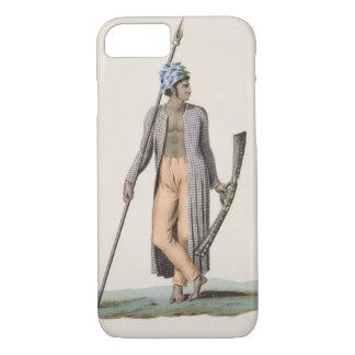 Coque iPhone 8/7 Guerrier de l'île de Guebe, de 'aut de voyage