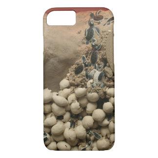 Coque iPhone 8/7 Hachure d'oeufs de tortue de bébé