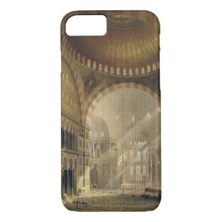 Coque iPhone 8/7 Haghia Sophia, plat 24 : intérieur du d central