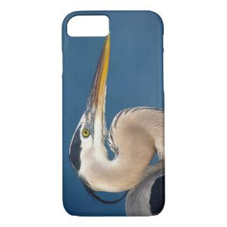 Coque iPhone 8/7 Héron de grand bleu (herodias d'Ardea). Les
