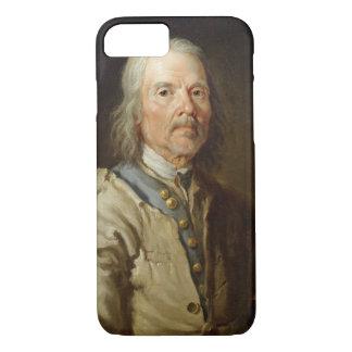 Coque iPhone 8/7 Homme tenant un personnel, c.1800 (huile sur la
