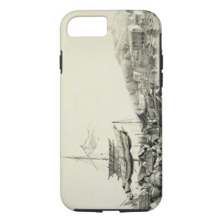 "Coque iPhone 8/7 Hong Shang, plaquent 17 des ""croquis de la Chine"","