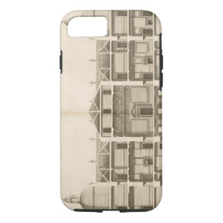 Coque iPhone 8/7 Houghton Hall : section de l'avant occidental,