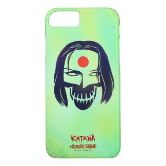 Coque iPhone 8/7 Icône principale du peloton | Katana de suicide