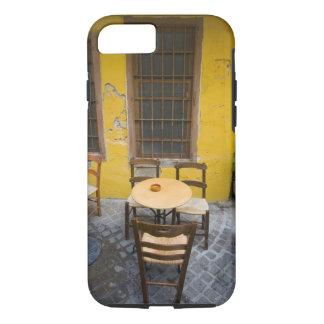 Coque iPhone 8/7 Île grecque de Crète et de vieille ville de Chania