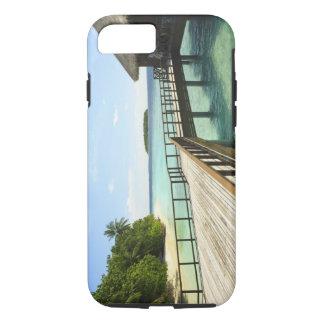 Coque iPhone 8/7 Île-hôtel de Bandos, atoll masculin du nord, les 2