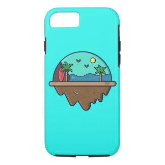 Coque iPhone 8/7 Île Serie - cas d'île de plage