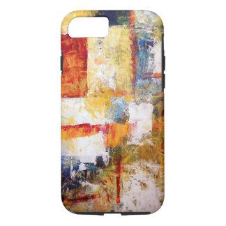 Coque iPhone 8/7 Illustration abstraite colorée
