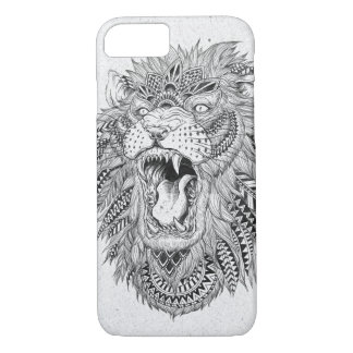 Coque iPhone 8/7 Illustration abstraite tirée par la main de