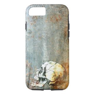 Coque iPhone 8/7 Industriel rouillé avec un iPhone de crâne 8/7 cas
