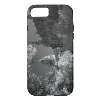 Coque iPhone 8/7 Infrarouge du dôme de bâtiment de capitol à La