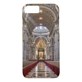 Coque iPhone 8/7 Intérieur de la basilique de St Peter
