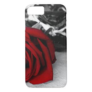 Coque iPhone 8/7 iPhone 6/6Plus, iPad/air/rose rouge B/W mini cas