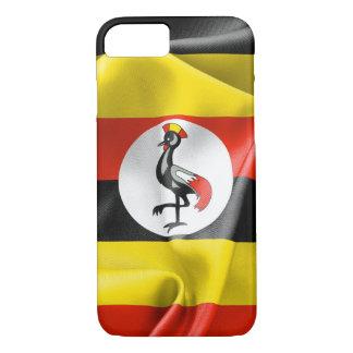 Coque iPhone 8/7 iPhone 7 et de drapeau de l'Ouganda cas 8
