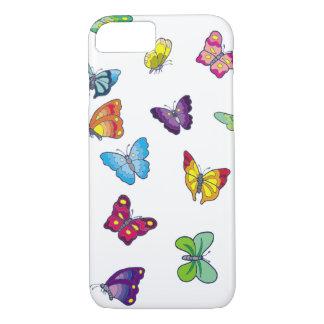 Coque iPhone 8/7 iPhone 8/7, à peine cas d'Apple de papillon de
