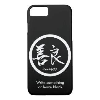 Coque iPhone 8/7 iPhone blanc de Kamon | de kanji de qualité 7 cas