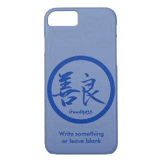 Coque iPhone 8/7 iPhone bleu de Kamon | de kanji de qualité 7 cas