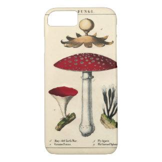 Coque iPhone 8/7 iPhone botanique d'impression de champignon