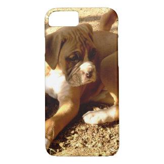 Coque iPhone 8/7 iPhone de chiot de boxeur 8/7 cas