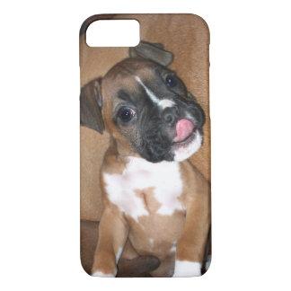 Coque iPhone 8/7 iPhone de chiot de boxeur 8 cas