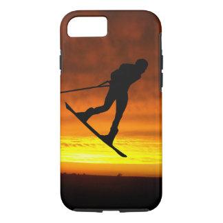 Coque iPhone 8/7 iPhone de coucher du soleil de Wakeboard 8/7 cas