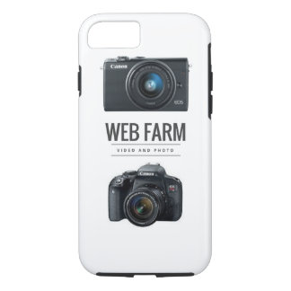 Coque iPhone 8/7 iPhone de ferme de Web 7/8 cas