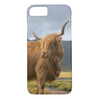 Coque iPhone 8/7 iPhone des montagnes de lumière de vache 8/7 cas
