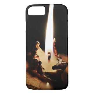 Coque iPhone 8/7 iPhone foncé de bougie 8/7 cas