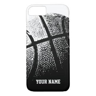 Coque iPhone 8/7 iPhone personnalisé 7 sports de basket-ball de