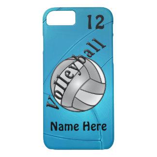 Coque iPhone 8/7 iPhone personnalisé de volleyball 6 cas pour elle