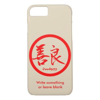 Coque iPhone 8/7 iPhone rouge de Kamon | de kanji de qualité 7 cas