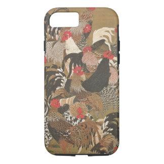 Coque iPhone 8/7 Japonais de la nouvelle année 2017 de coqs