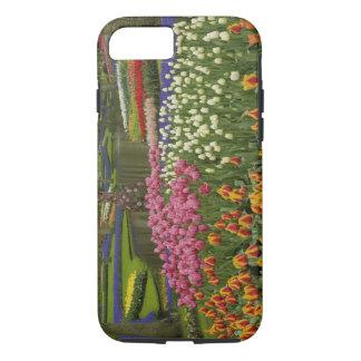Coque iPhone 8/7 Jardin de tulipe et de jacinthe, jardins de