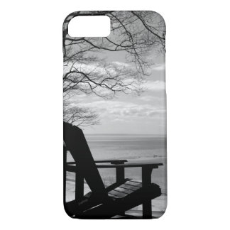 Coque iPhone 8/7 Jjhelene de BW de chaise de l'iPhone 8/7Adirondack