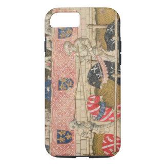 Coque iPhone 8/7 John Chalon de l'Angleterre et Lois de Beul de la