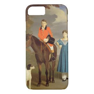 Coque iPhone 8/7 John Gubbins Newton et sa soeur Mary, 1832-33 (