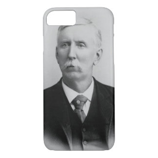 Coque iPhone 8/7 Joseph McCoy (1837-1915) (photo de b/w)