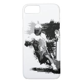 Coque iPhone 8/7 Joueur de lacrosse je téléphone le cas 5