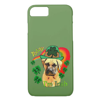 Coque iPhone 8/7 Jour de la Saint Patrick de Bullmastiff