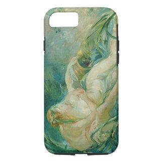 Coque iPhone 8/7 Jupiter et Callisto, après une peinture par